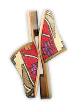 Load image into Gallery viewer, Archived Women's - Women's Sumak Kilim Slides - Size 41