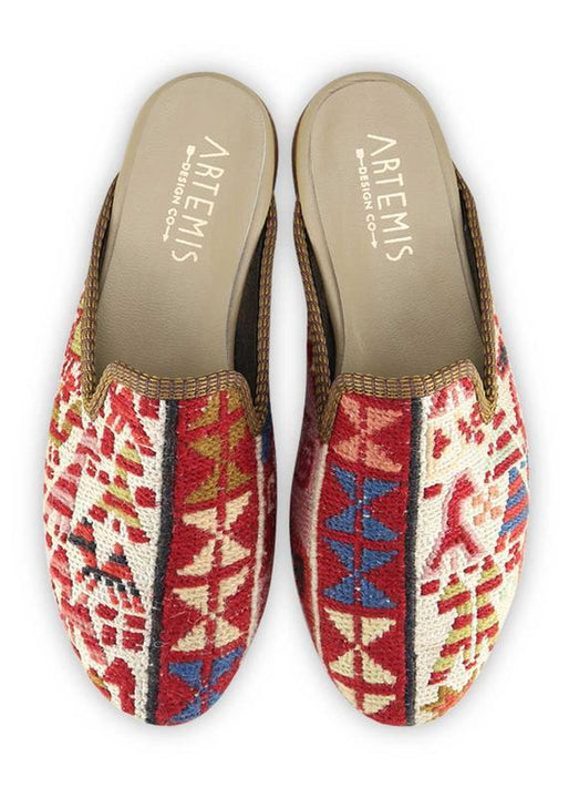 Archived Women's - Women's Sumak Kilim Slippers - Size 38