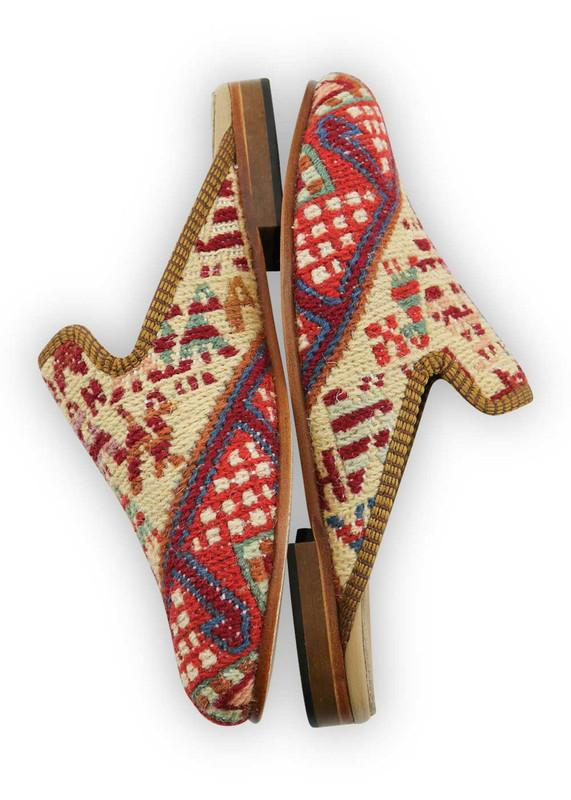 Load image into Gallery viewer, Archived Women's - Women's Sumak Kilim Slippers - Size 39
