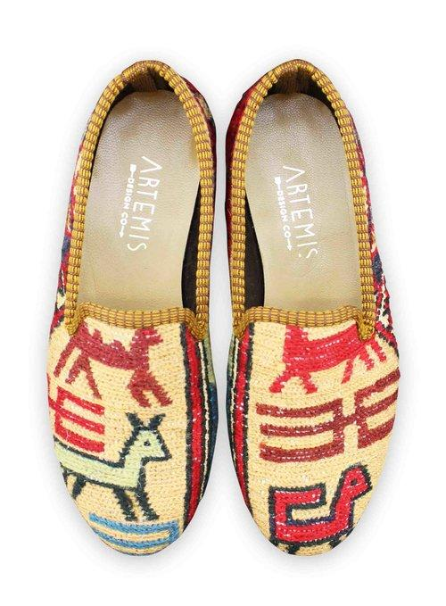 Archived Women's - Women's Sumak Kilim Smoking Shoes - Size 36 (US 6)