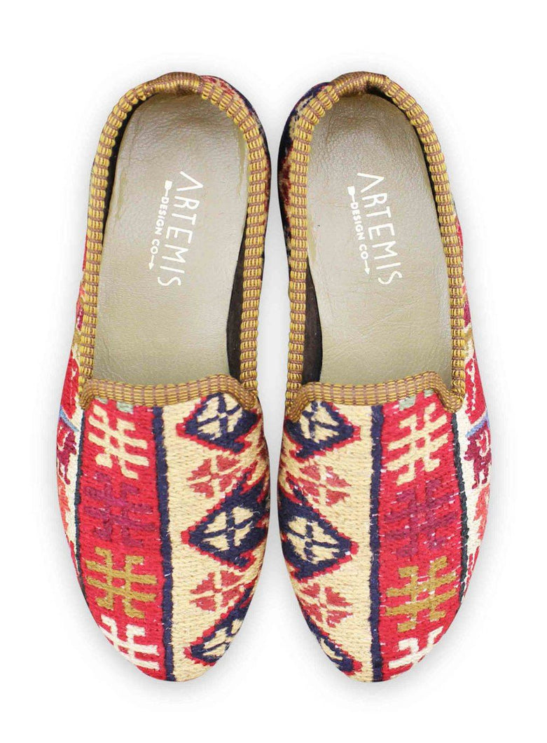 Load image into Gallery viewer, Archived Women's - Women's Sumak Kilim Smoking Shoes - Size 38