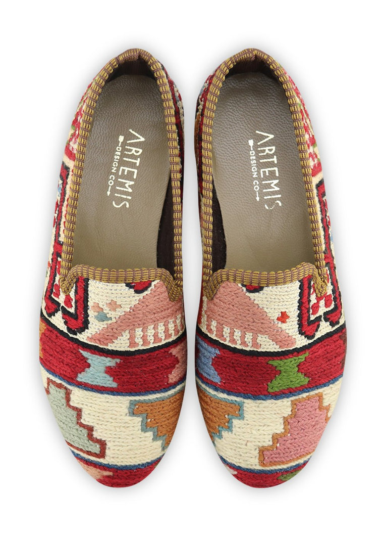 Load image into Gallery viewer, Archived Women's - Women's Sumak Kilim Smoking Shoes - Size 39
