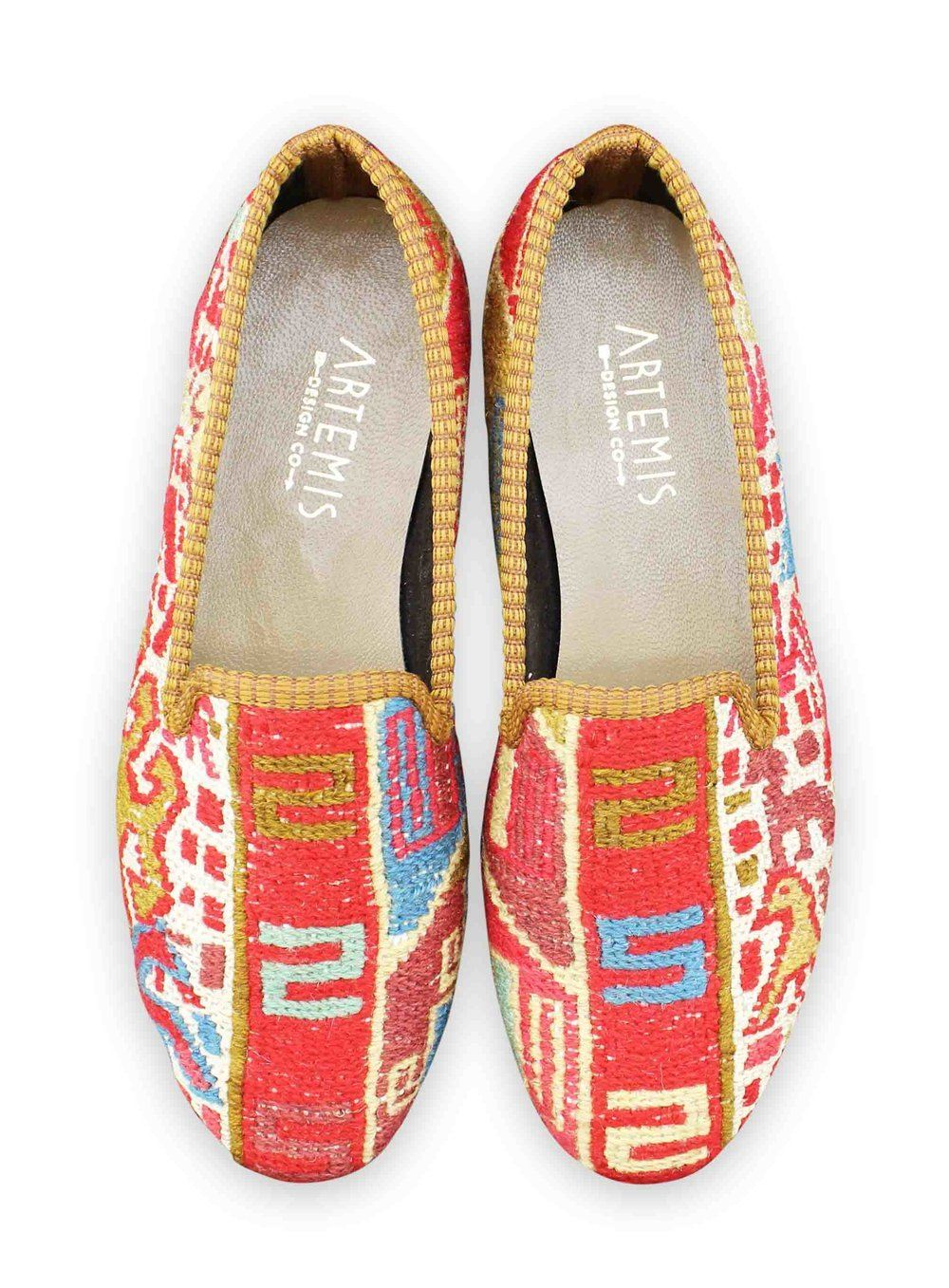 Archived Women's - Women's Sumak Kilim Smoking Shoes - Size 39 (US 9)