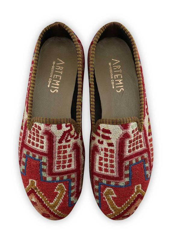 Load image into Gallery viewer, Archived Women's - Women's Sumak Kilim Smoking Shoes - Size 40