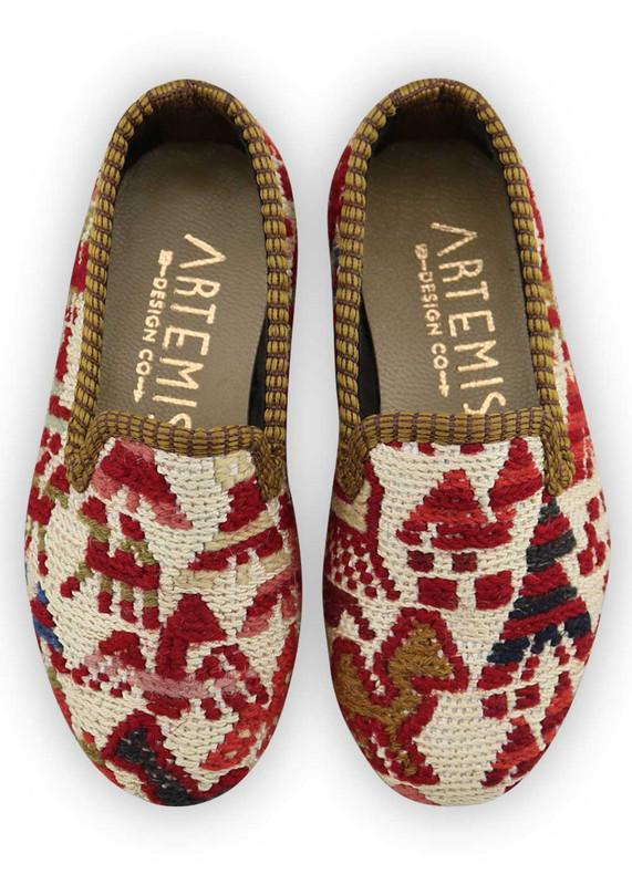Load image into Gallery viewer, Children's Shoes - Artemis Design Co. - Children's Sumak Kilim Loafers - Size 24