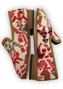 Children's Shoes - Artemis Design Co. - Children's Sumak Kilim Loafers - Size 25