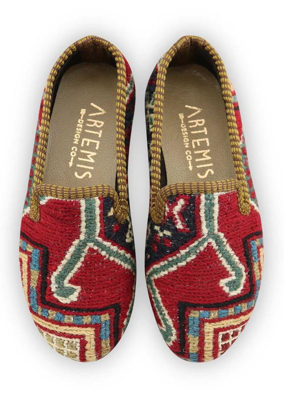Load image into Gallery viewer, Children's Shoes - Artemis Design Co. - Children's Sumak Kilim Loafers - Size 28