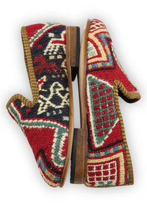 Children's Shoes - Artemis Design Co. - Children's Sumak Kilim Loafers - Size 28