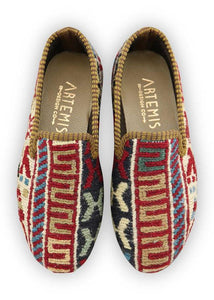 Children's Shoes - Artemis Design Co. - Children's Sumak Kilim Loafers - Size 31