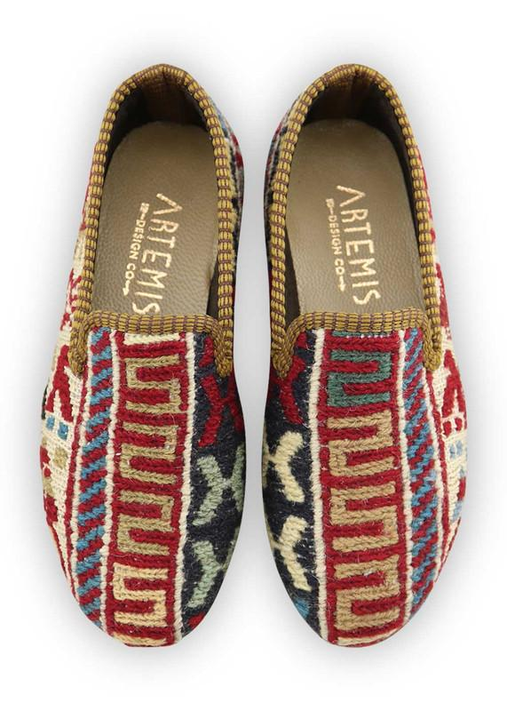 Load image into Gallery viewer, Children's Shoes - Artemis Design Co. - Children's Sumak Kilim Loafers - Size 31