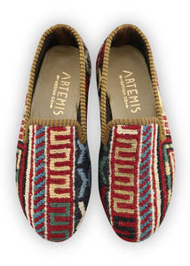 Children's Shoes - Artemis Design Co. - Children's Sumak Kilim Loafers - Size 32