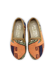 Children's Shoes - Children's Sumak Kilim Loafers - Size 25
