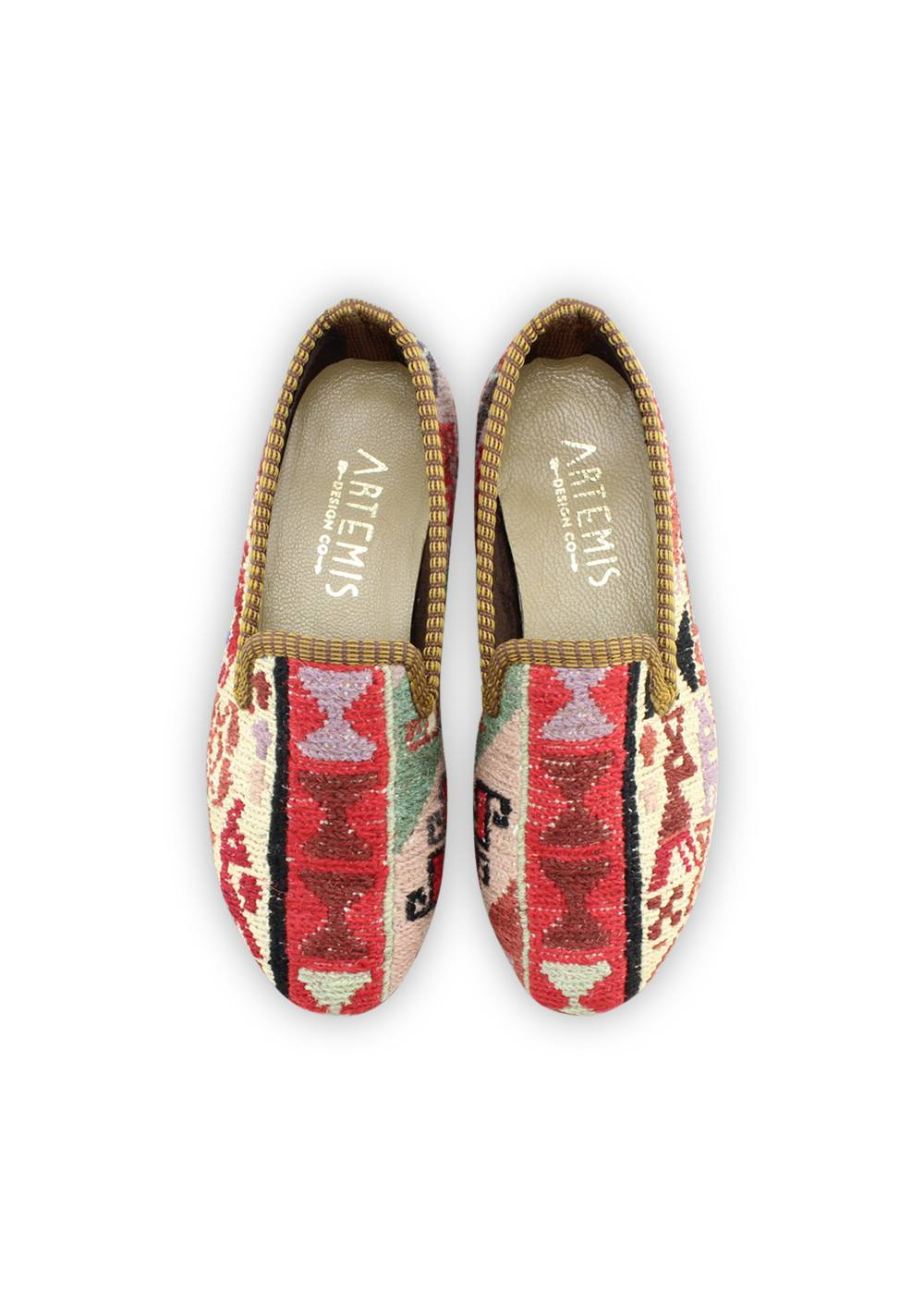 Children's Shoes - Children's Sumak Kilim Loafers - Size 32