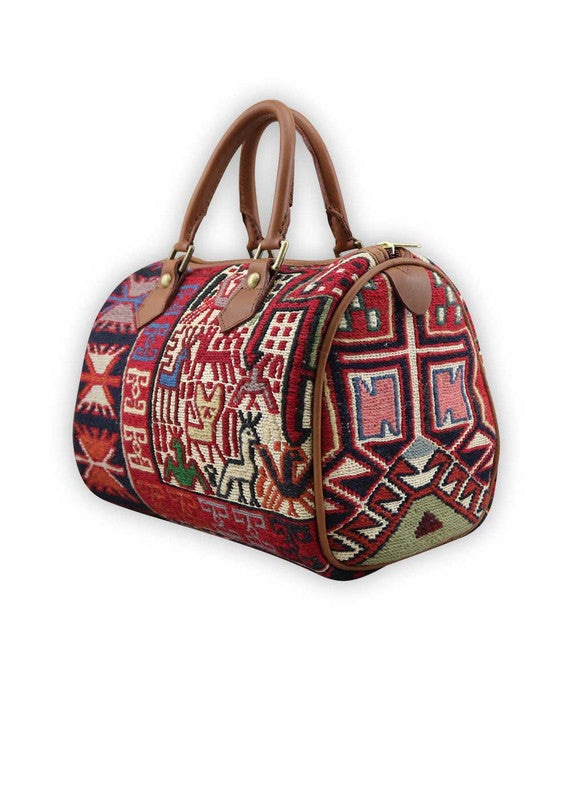 Load image into Gallery viewer, kilim-handbag-baby-duffle-AKBD00-0117S