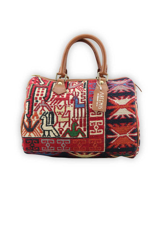 Load image into Gallery viewer, kilim-handbag-baby-duffle-AKBD00-0117