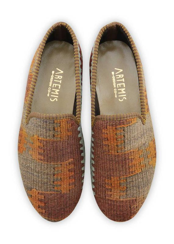 Load image into Gallery viewer, Men's Shoes - Men's Kilim Loafers - Size 39