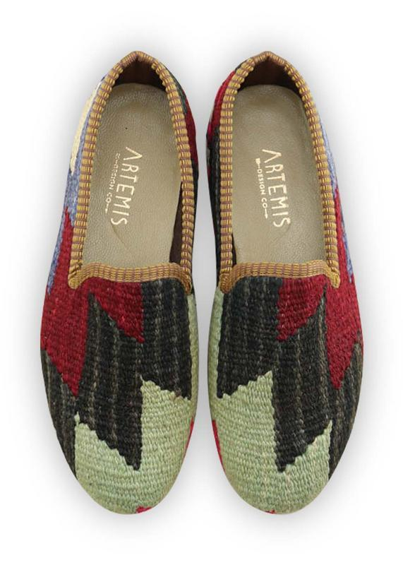 Men's Shoes - Men's Kilim Loafers - Size 40