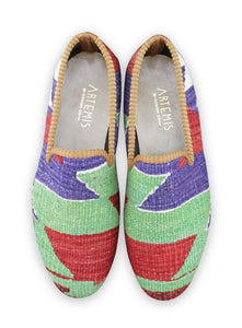 Men's Shoes - Men's Kilim Loafers - Size 41