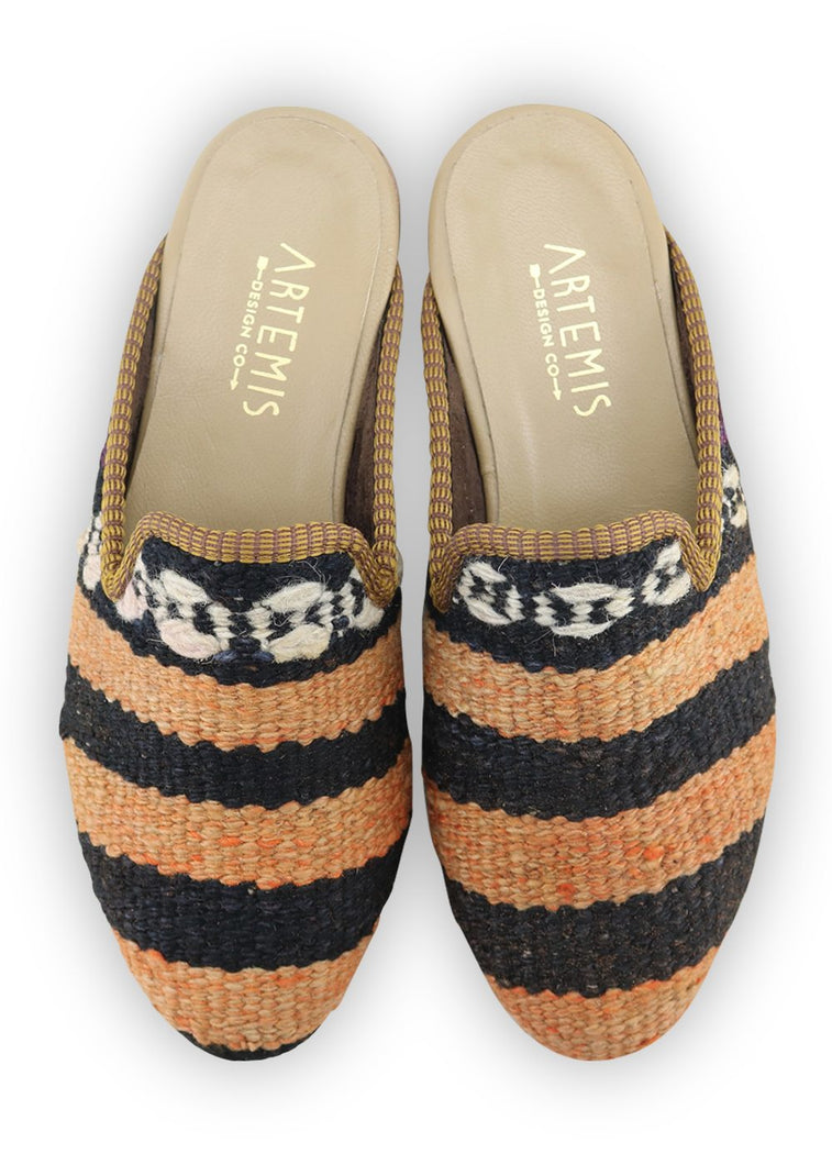 Load image into Gallery viewer, Men's Shoes - Men's Kilim Slippers - Size 40