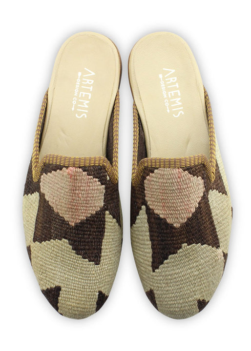 Men's Shoes - Men's Kilim Slippers - Size 42