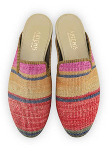 Men's Shoes - Men's Kilim Slippers - Size 45