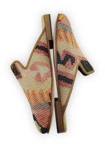 Men's Shoes - Men's Kilim Slippers - Size 46
