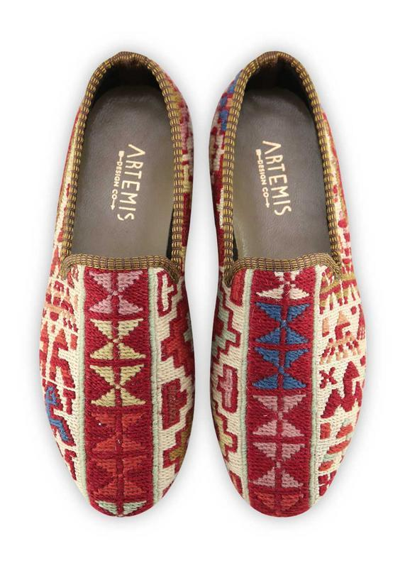 Load image into Gallery viewer, Men's Shoes - Men's Sumak Kilim Loafers - Size 40