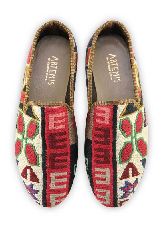 Men's Shoes - Men's Sumak Kilim Loafers - Size 42