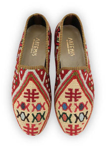 Men's Shoes - Men's Sumak Kilim Loafers - Size 43