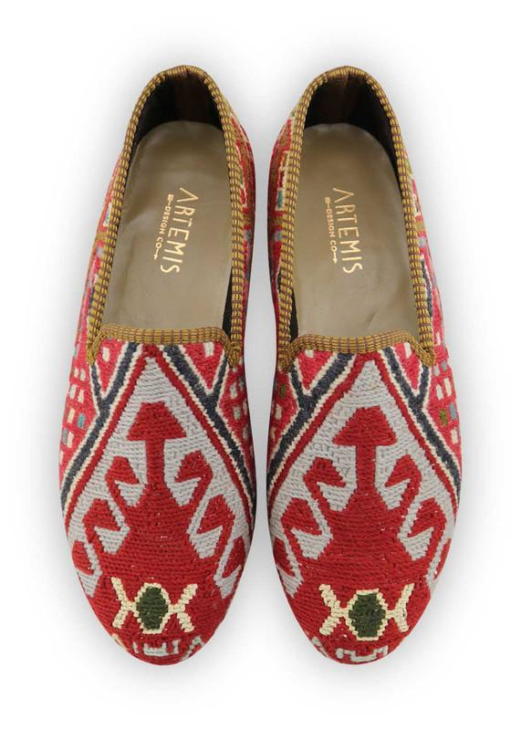 Men's Shoes - Men's Sumak Kilim Loafers - Size 44