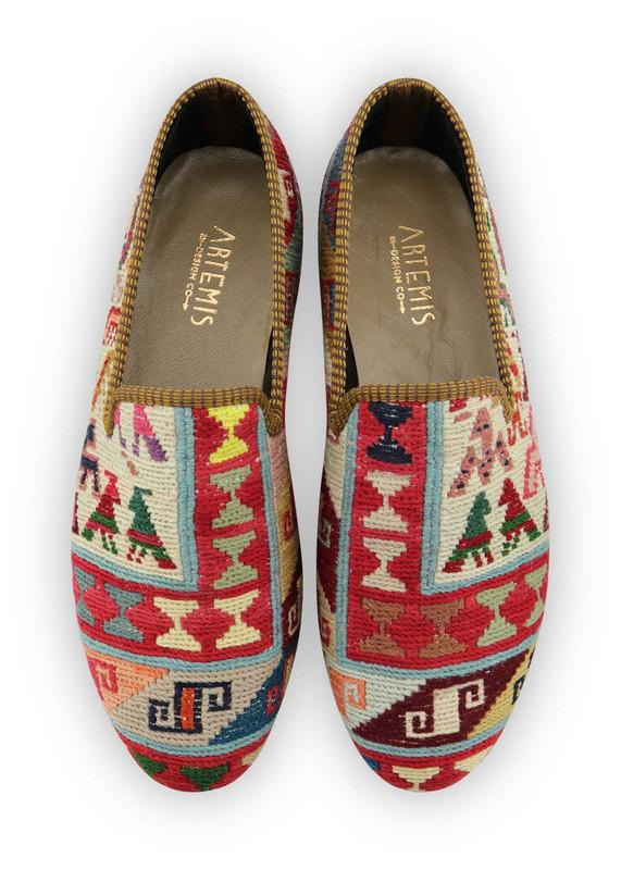 Men's Shoes - Men's Sumak Kilim Loafers - Size 45