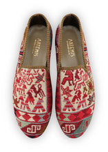Load image into Gallery viewer, Men's Shoes - Men's Sumak Kilim Loafers - Size 45