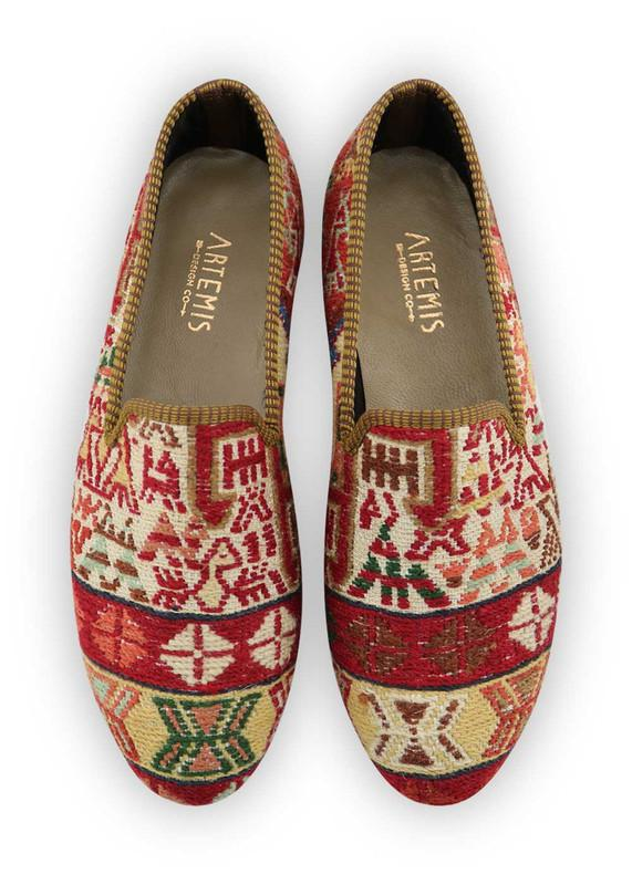Men's Shoes - Men's Sumak Kilim Loafers - Size 46