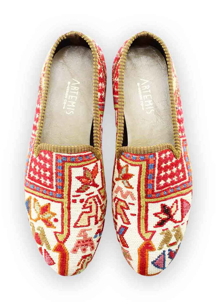 Load image into Gallery viewer, Men's Shoes - Men's Sumak Kilim Loafers - Size 47