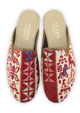 Load image into Gallery viewer, Men's Shoes - Men's Sumak Kilim Slippers - Size 40