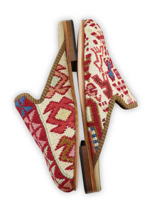 Men's Shoes - Men's Sumak Kilim Slippers - Size 40