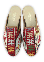 Load image into Gallery viewer, Men's Shoes - Men's Sumak Kilim Slippers - Size 44