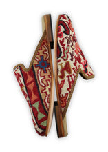 Load image into Gallery viewer, Men's Shoes - Men's Sumak Kilim Slippers - Size 46