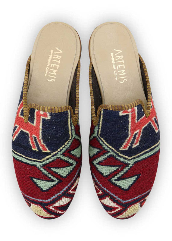 Load image into Gallery viewer, mens-kilim-slippers-MKSP42-0150