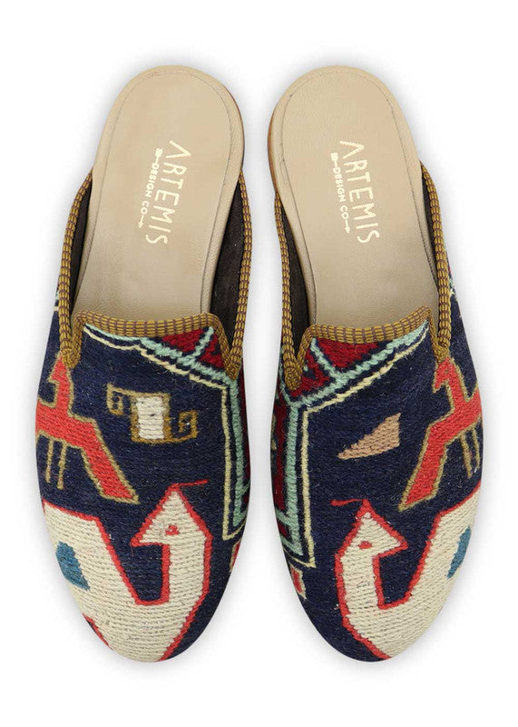 Load image into Gallery viewer, mens-kilim-slippers-MKSP42-0164