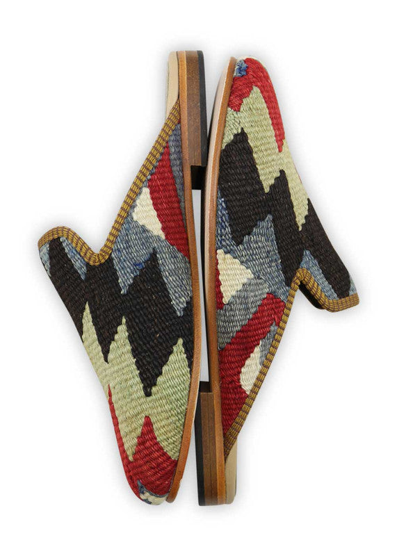 Load image into Gallery viewer, mens-kilim-slippers-MKSP42-0165S