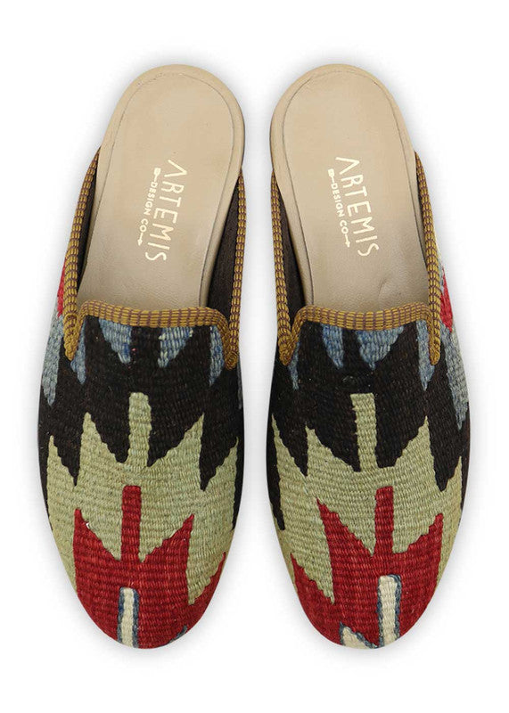 Load image into Gallery viewer, mens-kilim-slippers-MKSP42-0165