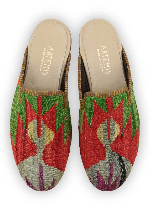 Load image into Gallery viewer, mens-kilim-slippers-MKSP43-0157