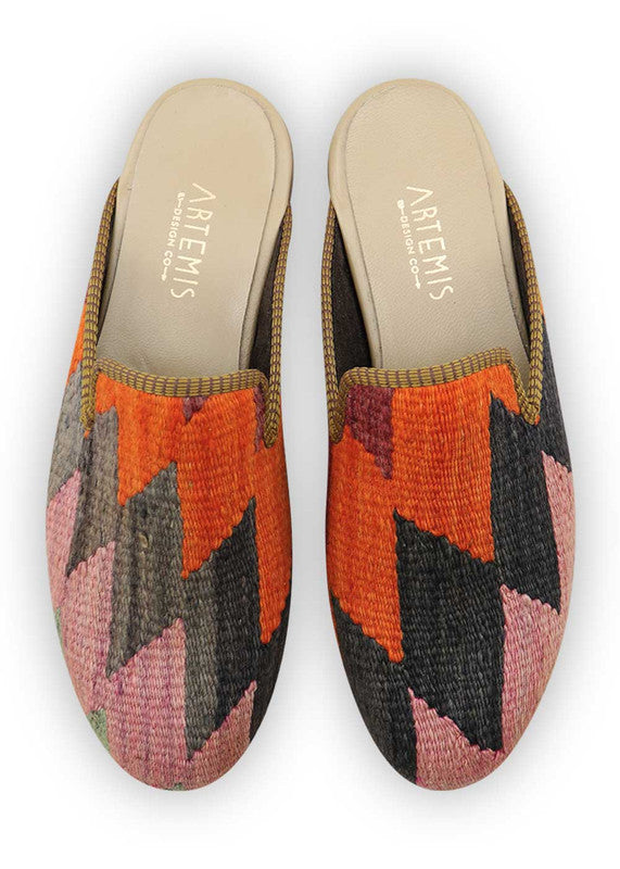 Load image into Gallery viewer, mens-kilim-slippers-MKSP45-0156