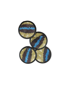 Miscellany - Velvet Coasters, Set/4