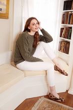 Load image into Gallery viewer, woman-wearing-kilim-loafers-seated-by-window