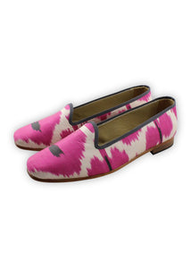 Women's Shoes - Charlotte Silk Loafers