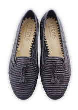 Load image into Gallery viewer, Women's Shoes - Raffia Loafer - Black