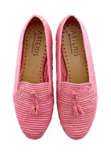 Load image into Gallery viewer, Women's Shoes - Raffia Loafer - Pink