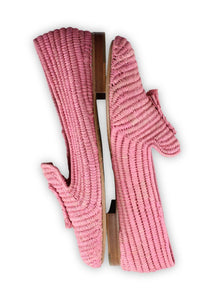 Women's Shoes - Raffia Loafer - Pink